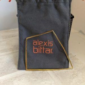 Alexis Bittar Miss Havisham kite shaped bangle